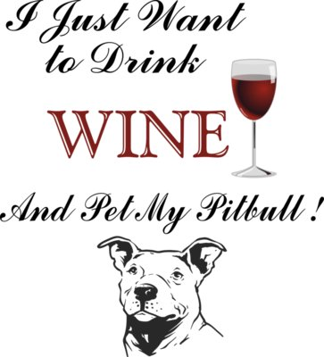 Pitbull wine for white