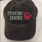 Rescue Mom Washed Cap