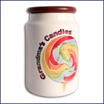 Ceramic Candy Jars